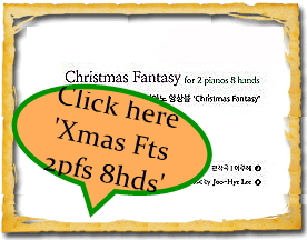Christmas Fantasy for 2 pianos 8 hands by Joo-Hye Lee